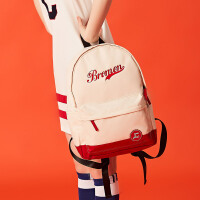 旅行背包女新款潮尼龙双肩包男韩版时尚大容量学生书包
