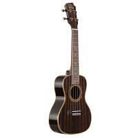 尤克里里23寸 初学者入门黑檀木单板乌克丽丽 玫瑰木家庭教学吉他