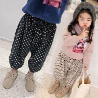 秋装长裤小童洋气女宝宝冬装灯笼裤女童裤子