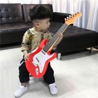 儿童大号可充电弹奏男女孩仿真尤克里里电子吉他玩具音乐初学乐器