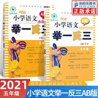 举一反三 五年级语文AB版上册下册新概念小学语文阅读理解训练基础训练篇 读写训练篇