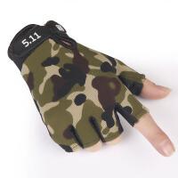 防滑透气男士健身运动战术半指骑行薄款防滑防晒春夏手套