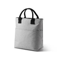 大号铝箔手提饭盒袋加厚保温袋拉链牛津布带饭包便当包简约手拎包