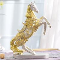 家居欧式酒柜装饰品卧室摆件马创意客厅房间家居小饰品摆设办公桌