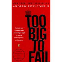 Too Big to Fail大而不倒 英文原版 Andrew Ross Sorkin(安德鲁・罗斯・索尔金) 978