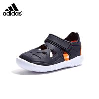 【到手价:259元】阿迪达斯Adidas童鞋2019夏季新儿童凉鞋中童镂空透气沙滩鞋(5-10岁可选)G54065