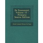 【预订】de Economist, Volume 15 - Primary Source Edition