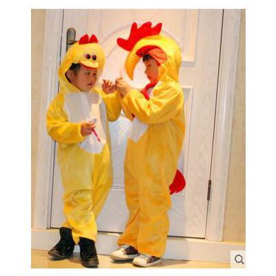 儿童演出服儿童动物服装男宝宝幼儿表演服幼儿园舞蹈服小黄鸭儿童服装
