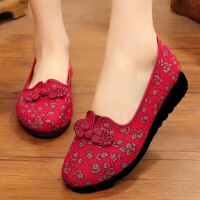 老太太鞋子夏女奶奶鞋老北京布鞋女中老年老人妈妈鞋