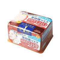 日本 高丝(Kose)美容液面膜贴抽取式 Q10弹力紧致润肤滋养30片/盒