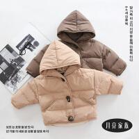 童装面包服1-2-3岁男童羽绒面包服婴幼宝宝