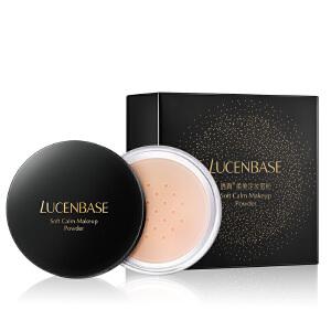 透真柔美定妆蜜粉12g 遮瑕修容定妆粉散粉 防水控油提亮肤色