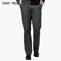 TONYWEAR汤尼威尔男士合体版商务休闲裤 中青年长裤秋冬厚款 1112300150