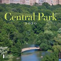 英文原版 纽约中央公园 2020年挂历 中央公园管理委员会 旅行周边纪念品 新年日历 礼品书 Central Park