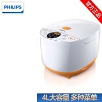 飞利浦(Philips) 电饭煲 HD4514 家用多功能电饭煲可预约 4L大容量 智能易操作电饭锅底盘加热其他