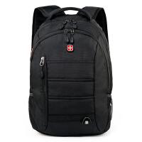 瑞士军刀双肩包商务笔记本电脑包15.6英寸 休闲运动双肩背包男女书包