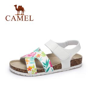 Camel/骆驼女鞋 夏季新款 防滑耐磨轻便沙滩鞋 休闲百搭凉鞋