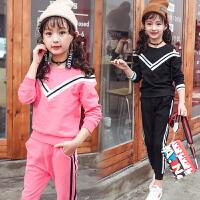 女童秋装运动套装小学生女孩年级服装春秋两件套