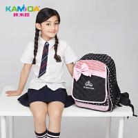 咔米嗒kamida小学生书包儿童背包女童时尚可爱双肩包补习袋