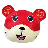 面包超人跳跳猪跳跳鼠海草猪会学舌的公仔球儿童毛绒玩具