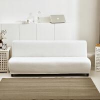 无扶手沙发套全包套 通用 防水折叠沙发床套罩简约现代 四季 白色 奶油白 160-190cm长均码