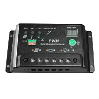 太阳能控制器12v24v20a 路灯系统控制器 光伏发电系统充电器 数码