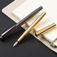 英雄钢笔练字用礼物*3811格致高级铱金笔墨水套装铱金笔签字笔办公硬笔书法定制logo送老师墨囊钢笔