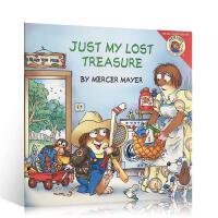 【全店300减100】英文原版 幽默逗趣的小毛人怪物系列 little critter: Just My Lost Tr