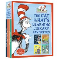 苏斯博士4册套装 The Cat in the Hat's Learning Library Favorites 英文原