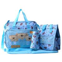 妈咪包大容量防水 母婴包多功能妈妈斜挎孕妇宝宝外出包
