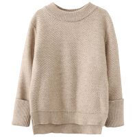 儿童针织毛衣秋冬姐弟装儿童圆领套头打底衫