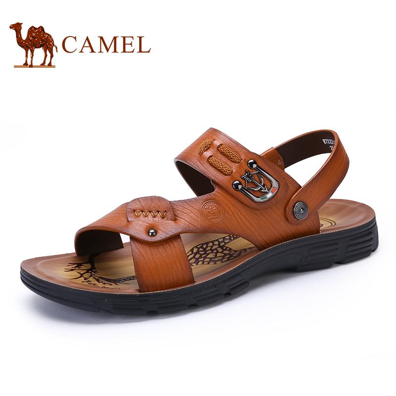 骆驼牌 男凉鞋 新品时尚透气男士沙滩鞋舒适休闲男凉鞋
