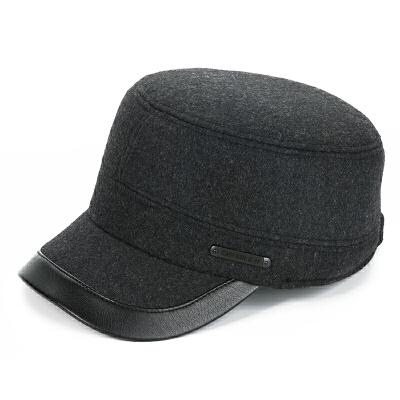 老人帽子男冬天中老年人秋冬保暖护耳爸爸爷爷鸭舌帽