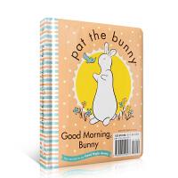 顺丰发货 Pat the Bunny拍拍小兔子系列 Good Night, Bunny/Good Morning, Bunny 纸板书 幼儿启蒙认知英文原版绘本 亲子读物