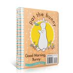 顺丰发货 Pat the Bunny拍拍小兔子系列 Good Night, Bunny/Good Morning, B