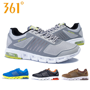 【每满100减50】361度男鞋运动鞋跑步鞋男361跑鞋缓震防滑气垫鞋C