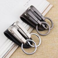 腰挂式钥匙扣创意汽车钥匙链挂件钥匙圈环锁匙扣