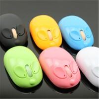 S77 无线鼠标 (新款鼠精灵2.4G 笔记本电脑彩色 小老鼠可爱卡通鼠标)