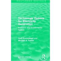 【预订】Technology Options for Electricity Generation 978113895