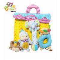 嘟嘟&贞贞 婴儿玩具0-1岁手摇铃 新生儿宝宝益智摇铃玩具套装