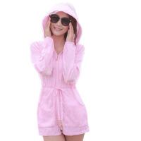 防晒衣女中长款夏季轻薄透气防晒服沙滩宽松外套