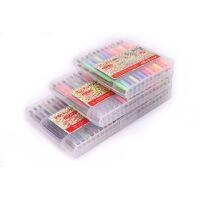 钻石笔水粉笔闪光笔荧光笔24色36色48色套装DIY相册笔粉彩笔