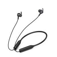 无线蓝牙耳机主动降噪运动迷你入耳塞式iphone7苹果x8双耳开车重低音防水小米隐形华为vivo安卓 黑色 标配