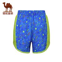 骆驼夏男童速干快干裤儿童运动短裤薄款舒适沙滩裤