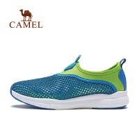骆驼儿童网鞋男女中大童网面运动鞋透气防滑耐磨
