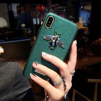 小蜜蜂手链挂绳苹果xs手机壳硅胶潮牌iphone8新款7p6splus女 6/6S 4.7寸 银色