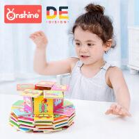 Onshine 32片记忆多米诺野生农场动物交通工具拼图拼版 儿童益智 周岁生日圣诞节新年六一儿童节礼物
