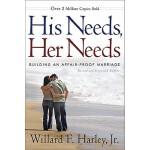 【预订】His Needs, Her Needs: Building an Affair-Proof Marriage