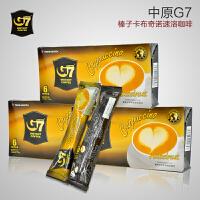 G7 COFFEE越南进口中原g7咖啡 榛果味卡布奇诺 108克x3盒(18条)