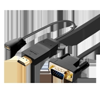 hdmi转vga线高清转换器公对公头带USB供电 ps4笔记本电脑小米盒子接电视投影仪转接头3 黑色